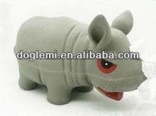 Rhinoceros bite pet toy