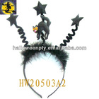 Black Fabric Halloween Simple Headband Designed for Children