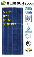 Bluesun 2014 new poly 140w solar automobiles