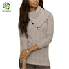 soft pullover/long sleeve turtleneck dress/grey turtleneck sweater