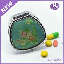 New Product HX-1647 Owl Rectangle Metal Digital Medicine Box Pill Reminder