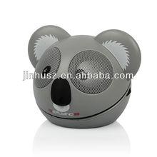 Factory Outlet]2012 newest animal cartoon speaker /bluetooth speaker