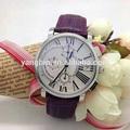 De acero inoxidable reloj del negocio del reloj mecánico de acero inoxidable reloj
