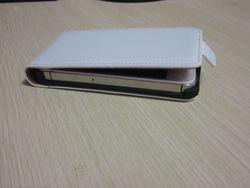 Luxury Stylish PU leather FLIP case for iPhone 4 4s
