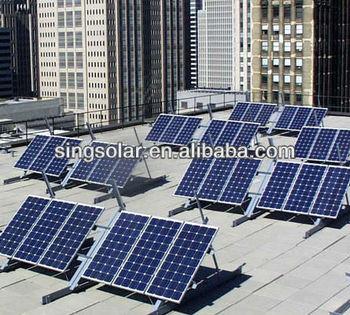 Hot Sale chinese 280W PV poly/mono solar panel, best price per watt solar panels