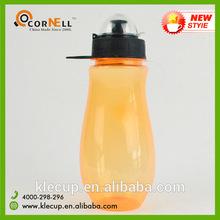 BPA free Travel bottle Plastic vacuum flask 400ml