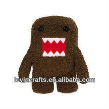 LE-A130408016 caffee domo plush stufffed toys
