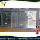 Office Sliding Glass window with Australian standard 2047 powder coated double glazing with as2208