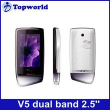 "cheap V5 PDA mobile phone dual band dual cards 2.8"" PDA"