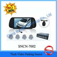 High Performance SN-7002 7Inch Video Parking Sensor From Sunight
