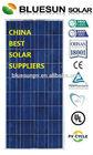 Top quality bluesun poly 150W triangle solar panel