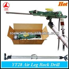 YT28 leg support/pusher leg rock drill