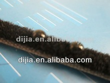 silicone Superior quality weatherstrip/wool pile/pile strip for doors and windows