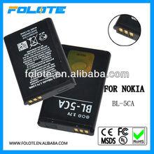 Original For Nokia 1110i 1600 1680 c 1209 Akku Batterie BL-5CA 700mAh 3,7V BULK