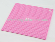 Hot sell!! square shape silicone pot pad/cup mat