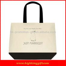 Cheap handmade cotton canvas bag, tote bag