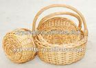 3pcs miniature wicker flower basket (factory supplier)