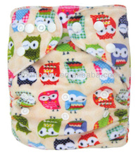 AnAnBaby Minky Diapers PUL Breathable With Double Row Snaps fitted nappy Stock For Sale