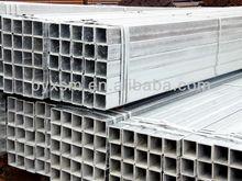 SS400 galvanised rectangular steel pipe steel structural