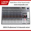 Professio EM12 series small audio mixer /16DSP/USB/ESP ECHO