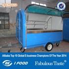 FV-22I CE fast food kiosk/car food van /kiosk carts