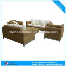 HK- CF678 PE Rattan Section Sofa