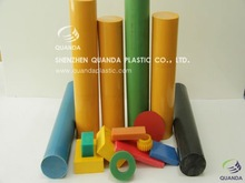 Plastic PA6 bar polyamide6 rod with high performance