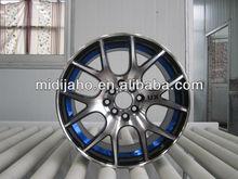 Redbule lip/Matt black/Black Car wheels aluminum rims
