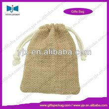 wholesale small drawstring jute bag