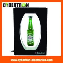 acrylic bottle floating display holder