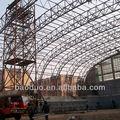 Grande extensão de aço pré-fabricadas treliças de telhado
