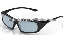 Black Light Weight Passive Polarized 3D Glassses/Eyewear for Cinema---CP400G64R