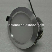 Silver Color Frosted Glass D110mm 15W 20V Dimmable Led Ceiling Downlight