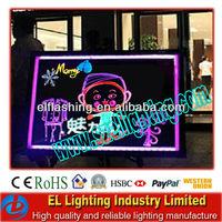 LED table writing board transparent billboard