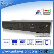 Hi 3520 32CH Standalone network HDMI CCTV DVR 3G wifi