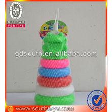 baby block toys rainbow tower