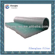 G4 fiberglass auto spray booth air filter material