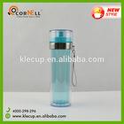 Double wall Hot Selling 500ml Bpa Free Plastic Bottle / Plastic Sports Bottles+201 SS