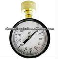 水試験圧力ゲージ