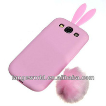 3D animal shaped case for samsung galaxy s3 i9300