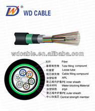 Top ! cable price per meter:GYTA53 fiber optic cable Stranded Loose Tube Armored Cable