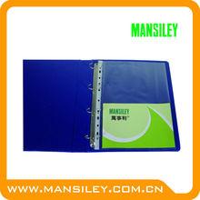 pocket clear sheet protectors/2 hole sheet protector/screen protector sheet