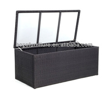 Rattan storage boxes/Outdoor furniture accessories