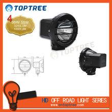 12V/55W auto HID spot Light 4wd off road hid driving light