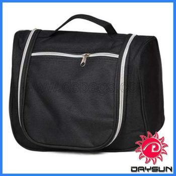 Hanging Toiletry Travel Bag In Black
