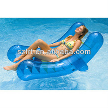 inflatable Rocker pool lounger chair with adjustable recline