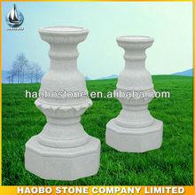 Chinese Granite Flower Pot Garden Stone Carving