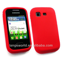 Silicone case for galaxy pocket s5300