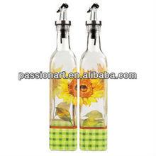 Glass Cruet Oil and Vinegar
