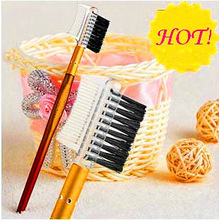hot eyebrow brush and comb